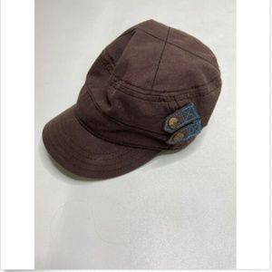Adidas Womens Military Brown Hat Relaxed Fit